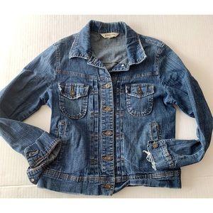 St John Bay Jean Jacket Size Medium